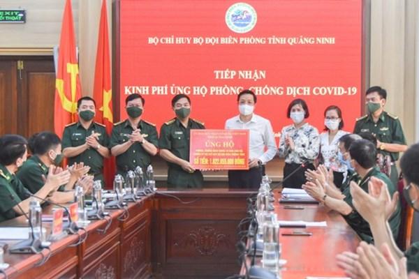 Quảng Ninh: Thăm, tặng quà Bộ đội Biên phòng và các chốt kiểm soát Covid-19