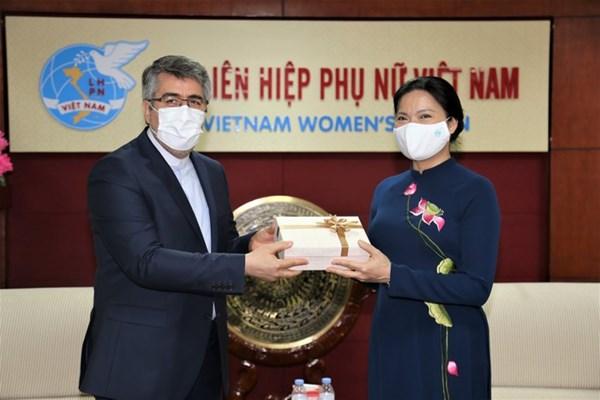 Hội LHPN Việt Nam và Đại sứ quán Iran sẽ phối hợp tổ chức tọa đàm trực tuyến chia sẻ kinh nghiệm phòng chống dịch bệnh Covid-19