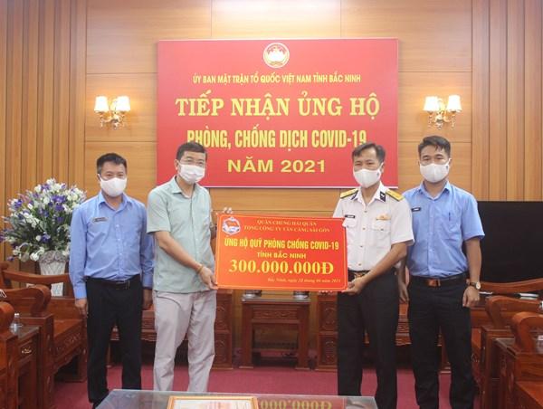 208 tỷ đồng của nhân dân cả nước ủng hộ Bắc Ninh phòng, chống dịch