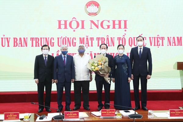 Hội nghị UBTƯ MTTQ Việt Nam lần thứ 5: Hiệp thương cử ông Lê Tiến Châu giữ chức Phó Chủ tịch - Tổng Thư ký UBTƯ MTTQ Việt Nam