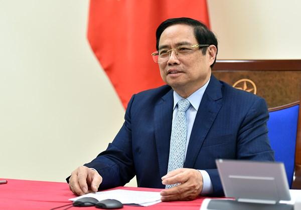 Thủ tướng đề nghị Israel hỗ trợ Việt Nam tiếp cận các nguồn vaccine phòng COVID-19