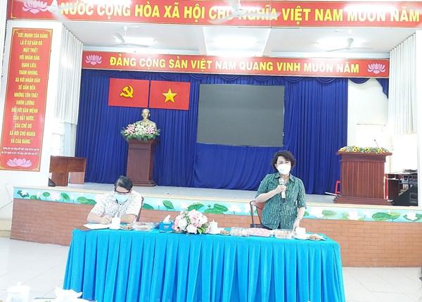 MTTQ thành phố Hồ Chí Minh giám sát công tác hỗ trợ người dân bị ảnh hưởng bởi dịch Covid-19