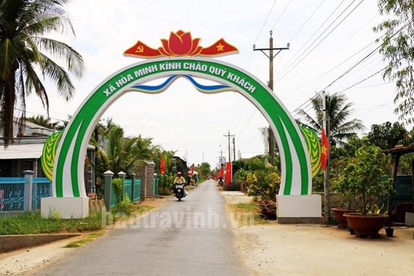 Huyện Châu Thành, tỉnh Trà Vinh với mục tiêu xây dựng thành công huyện nông thôn mới trong năm 2021