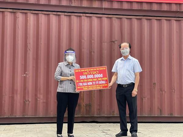 Hơn 300 nghìn tấn hàng hóa, nhu yếu phẩm tiếp sức cùng thành phố Hồ Chí Minh chống dịch