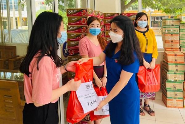 Hà Nội: Hơn 2.000 sinh viên được tiếp sức cùng vượt qua đại dịch