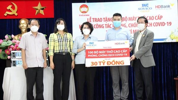 Mặt trận Thành phố Hồ Chí Minh: Tiếp nhận, bàn giao thiết bị y tế phục vụ chữa bệnh cho bệnh nhân COVID-19