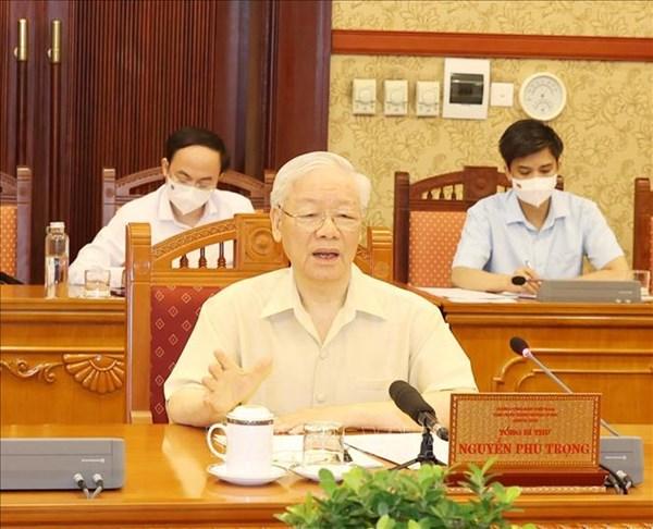 Phân công Thủ tướng Chính phủ làm Trưởng Ban Chỉ đạo quốc gia phòng, chống dịch COVID-19