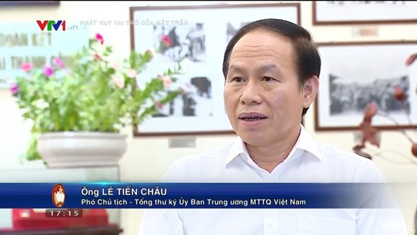 Mặt trận các cấp tiếp sức cùng thành phố Hồ Chí Minh và các tỉnh phía Nam đẩy lùi dịch bệnh