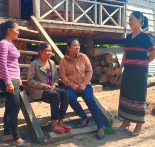 Nay H'Uyên - nữ Chủ tịch Mặt trận nói dân tin, làm dân theo