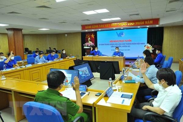 Ông Nguyễn Ngọc Lương làm Chủ tịch Hội Liên hiệp Thanh niên Việt Nam