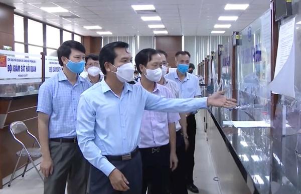 Hải Phòng: Kiểm tra công tác phòng chống dịch tại các cảng biển trên địa bàn quận Hải An