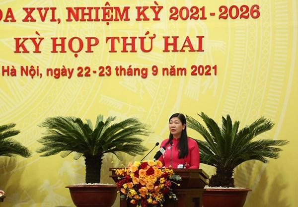 Cử tri thành phố Hà Nội đồng tình với cách điều hành của TP trong phòng, chống dịch