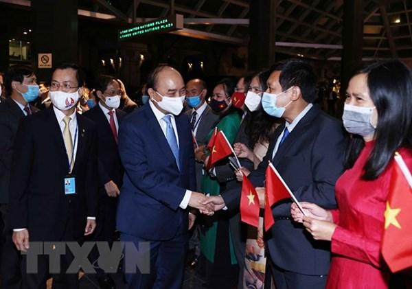 Chủ tịch nước Nguyễn Xuân Phúc gặp mặt kiều bào Việt Nam tại Hoa Kỳ