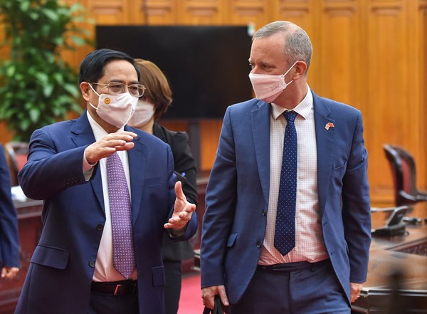 Việt Nam và Anh đẩy mạnh hợp tác vaccine và phát triển công nghiệp dược