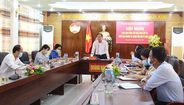 Quảng Nam: Việc hỗ trợ cần tập trung, hiệu quả, không dàn trải
