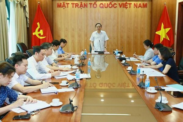 Ủy ban Trung ương MTTQ Việt Nam hỗ trợ Lai Châu, Hà Giang mỗi tỉnh 1 tỷ đồng