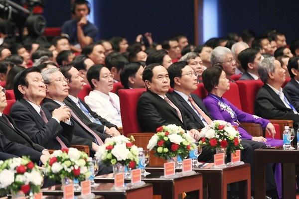 Chủ tịch Trần Thanh Mẫn dự Kỷ niệm 10 năm điều chỉnh địa giới hành chính Thủ đô