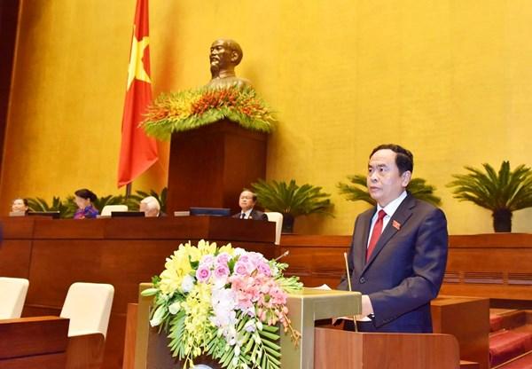 Báo cáo Tổng hợp ý kiến, kiến nghị của cử tri và nhân dân trước Quốc hội