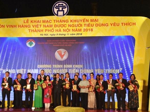 Khai mạc Tháng khuyến mại Hà Nội năm 2018