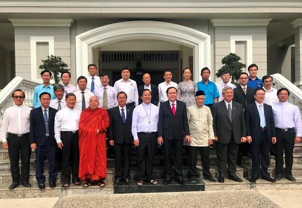 Đồng bào Công giáo Việt Nam chung tay củng cố khối đại đoàn kết toàn dân tộc