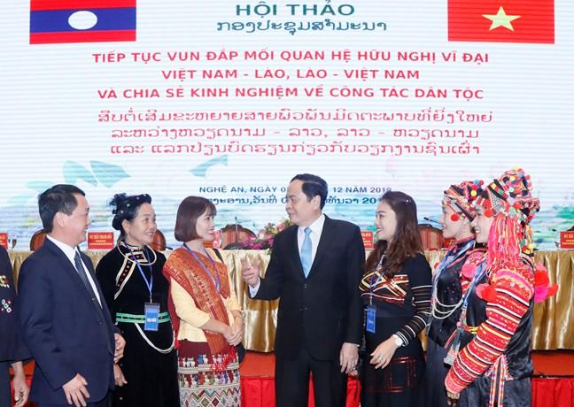 Mặt trận Việt Nam – Lào: Đóng góp tích cực trong từng bước tiến của hai nước - 5